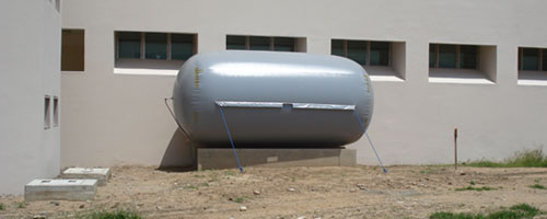 Biogas All Weather Storage Balloon